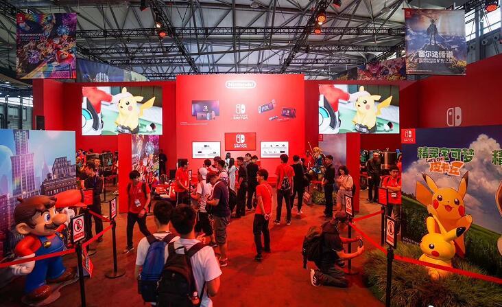 2019ChinaJoy上海现场图文抢先看 现场可体验众多互动游戏
