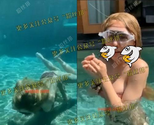 前熊貓主播Lovely璐璐泳池9分32秒不雅视频流出,现已退网不做女主播