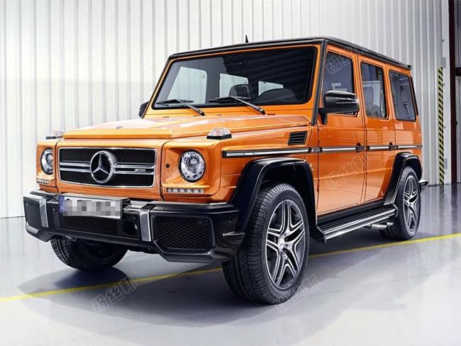 大佛300多万购买奔驰4乘4大G,从汉兰达路虎到大G,大佛喜获豪华座驾
