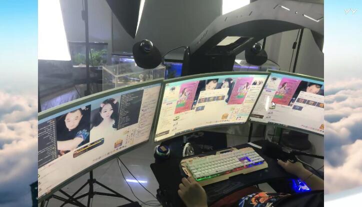 神豪快乐哥回归,炫耀高科技直播设备,与七夜畅谈财力公会难发展
