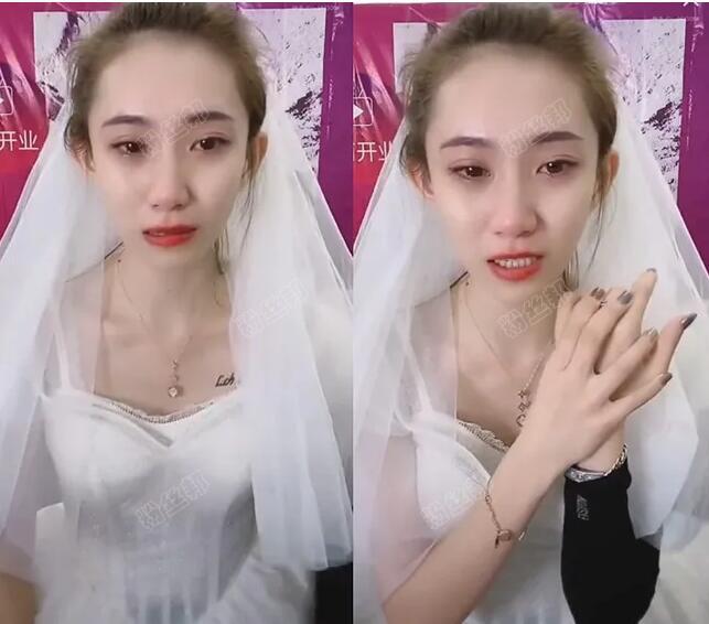 小仙女与仙洋分手原因,感恩遇见和平粉丝,仙女曾为狱中男友披上婚纱