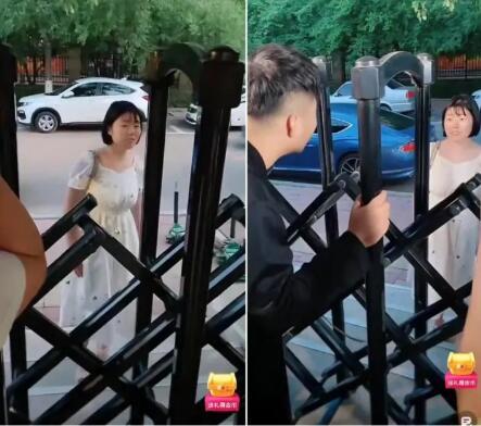 痴情女粉堵公司门口声称白小白媳妇,警察到场女子拒绝去派出所