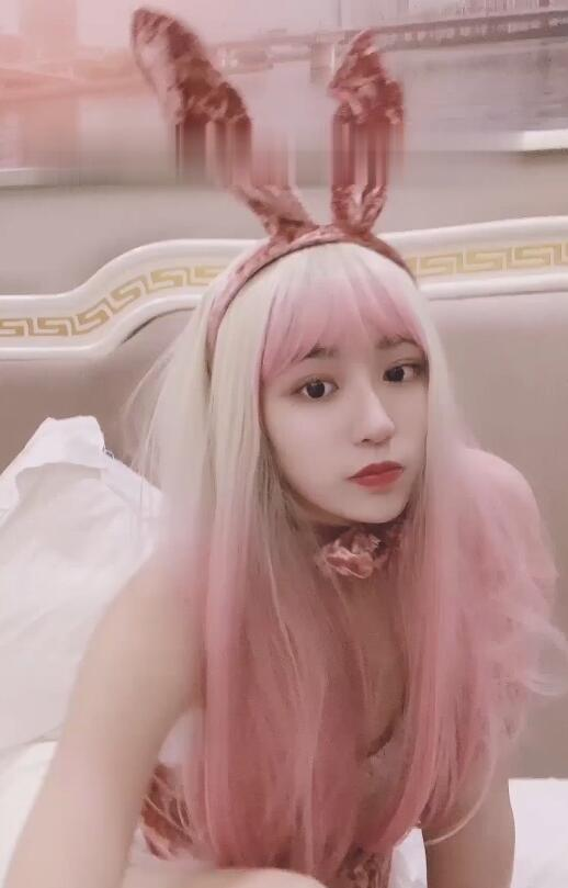 抖音网红不见星空槿晓婷最新作品写真,网红美女不见星空福利兔女郎图片大全