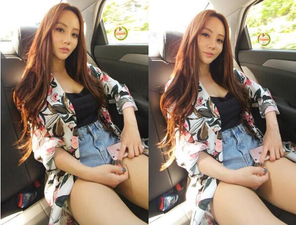 韩国人气美女鼓手雅妍写真照片 身材极品颜值惊人